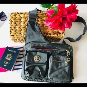 Baggallini Bags - BAGGALLINI CROSSBODY HOBO TRAVEL BAG PURSE NYLON